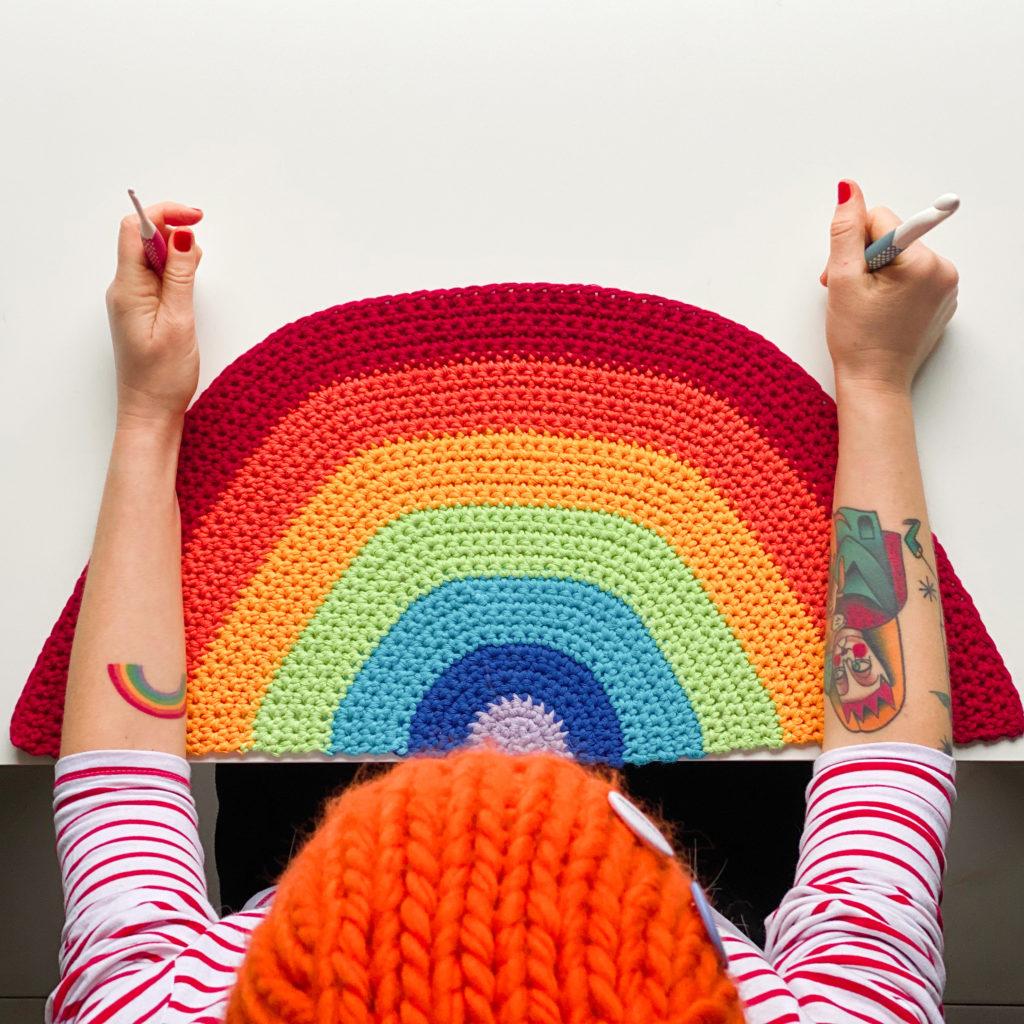 Tovaglietta arcobaleno